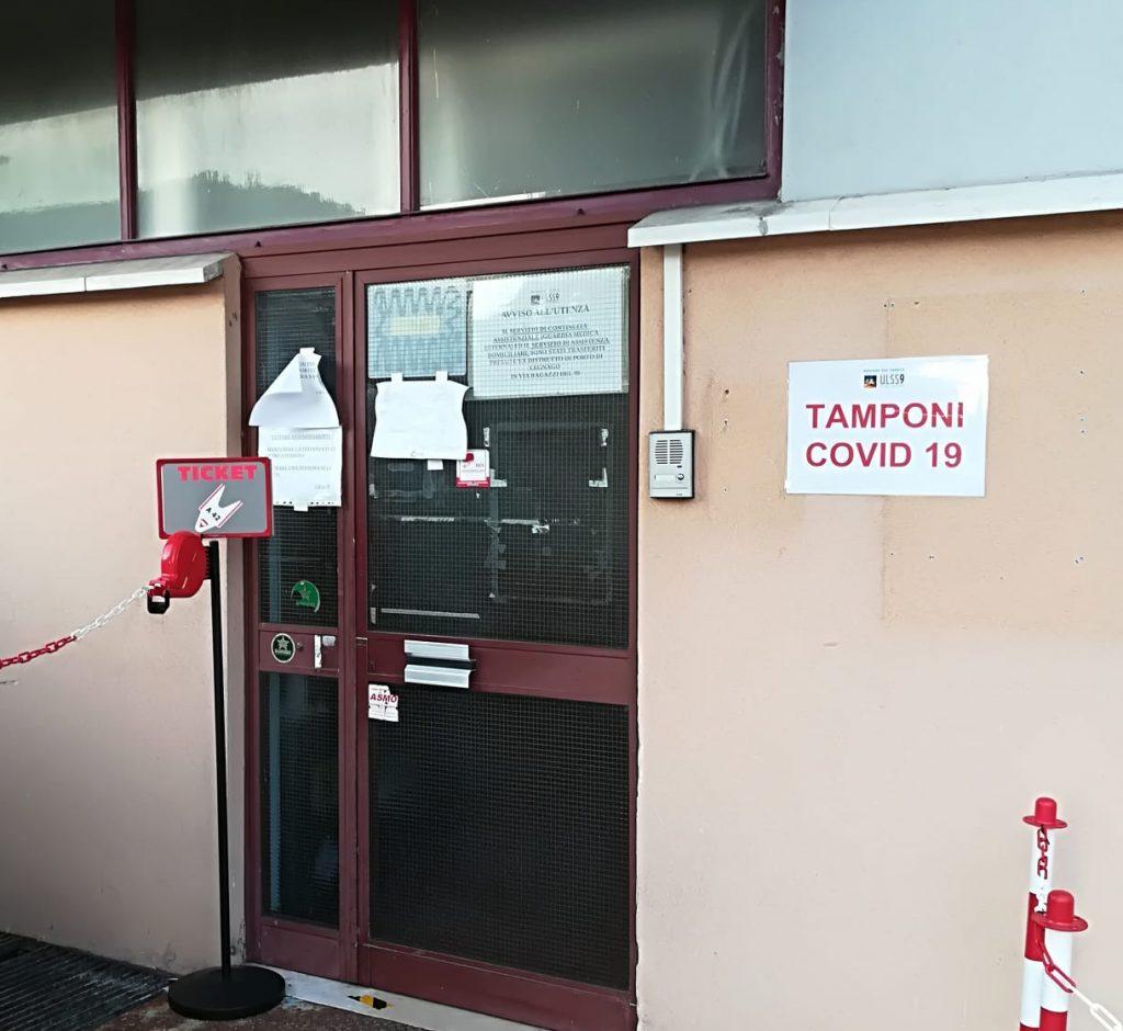 Verona, centro tamponi Covid all'ospedale di Borgo Trento ...