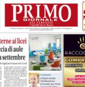 Primo Giornale, il numero di luglio in distribuzione nell'Est Veronese. Scaricabile e sfogliabile qui