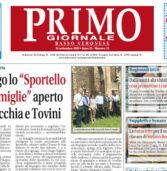 Primo Giornale, in distribuzione nel Basso Veronese dal 16 settembre. Scaricabile e sfogliabile anche qui