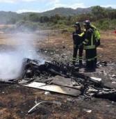 Due veronesi morti nello schianto del loro ultraleggero in Sardegna: partiti da Isola Rizza