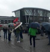 """Casaleone, sciopero e presidio oggi alla """"Aldino Srl"""" (ex pastificio Fazion)"""