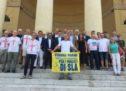 Verona, la nuova sfida del marotena Amicabile: Verona-Parigi a piedi per raccogliere fondi per i malati di Sla