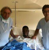 Calcio, operato oggi all'ospedale di Negrar l'attaccante Caleb Ansah Ekuban, ex Chievo ora in Turchia al Trabzonspor