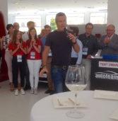 """Legnago, la concessionaria Fiat """"Autoteam 9"""" inaugurata da Jimmy Ghione di """"Striscia la Notizia"""""""