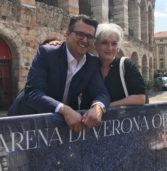 Verona, inaugurate le transenne di Amt che raccontano 104 anni di lirica in Arena