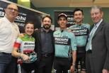 """Ciclismo, Gimondi e i campioni della Bianchi alla """"Festa d'Autunno"""" del centrocaravan Bonometti"""