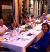Bussolengo, oltre 250 persone ieri sera alla cena in via Mazzini