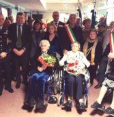 Cerea, festa alla casa di riposo per i 105 anni di Nella Martini, i 100 di Luigia Costa e i 101 di Almerina Bistaffa