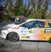 Rally, al Targa Florio Strabello costretto al ritiro quando era quarto: sbatte e si frattura il dito di una mano