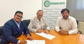 Commercio, accordo Confesercenti-Verona Social per favorire l'accesso al web dei negozianti associati