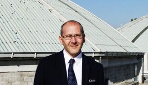 Il presidente di Acque Veronesi, Niko Cordioli