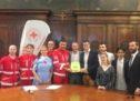 Verona, un defibrillatore alla Croce Rossa dal gruppo giovani del Lions Club