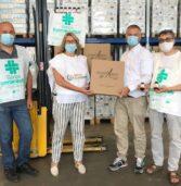 Verona, il Banco Farmaceutico grazie ad Aboca regala 500 confezioni di disinfettante mani al Centro salute immigrati