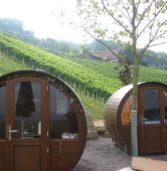 """Il Veneto apre alle """"vacanze in botte"""" approvate come """"strutture ricettive in ambiente naturale"""""""