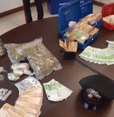 Verona, giovane arrestato dai carabinieri con quasi 7 etti di droga
