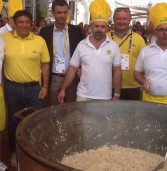 Risotto all'isolana da record per 1000 persone all'Expo di Milano
