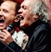 Cerea, sabato all'Area Exp il concerto di Riccardo Fogli e Roby Facchinetti