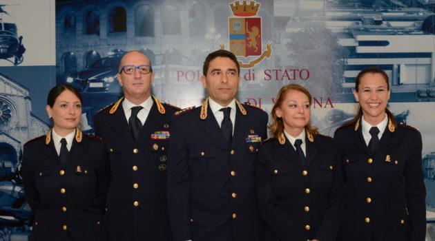 Verona, ecco i nuovi quattro dirigenti della Questura