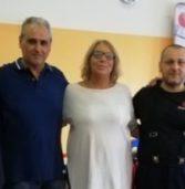 Rinnovo del contratto dei metalmeccanici: la segretaria nazionale della Fiom, Francesca Re David, in assemblea alle Fonderie Zanardi