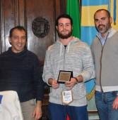 Verona, targa del Comune al campione di judo della Valpolicella Luca Furlani