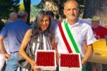 Tregnago, inaugurata la Pink Bench del Cammino delle Scoperte