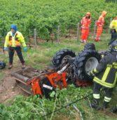 Illasi, è un 66enne di Lavagno l'agricoltore morto sotto il suo trattore a Cellore