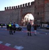 Verona, 55 enne in moto si scontra con due bici e perde la vita