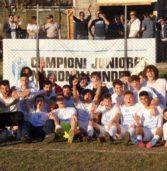 Calcio, sabato festa al Sandrini per gli Juniores del Legnago che hanno vinto il campionato