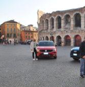"""Verona, si gira in Bra la trasmissione di Rai Uno""""Easy Driver"""""""