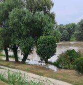 Legnago, passata alle 17,30 senza problemi l'ondata di piena dell'Adige