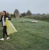 Legnago, gli studenti con Greta: hanno manifestato per il clima e pulito la città dalle immondizie