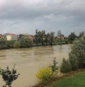 Legnago, allerta per l'Adige con l'ondata di piena prevista per le 18