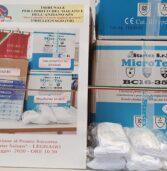 Legnago, il Tribunale del malato dona 100, 150 visiere e 50 mascherine lavabili al Pronto Soccorso dell'ospedale