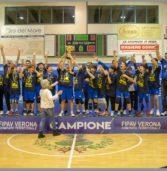 Legnago, l'Asd Pallavolo campione provinciale con l'Under 14