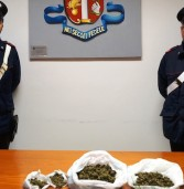 Monteforte d'Alpone, due arrestati dai Carabinieri con 700 grammi di droga
