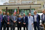 Elezioni, il ministro Fontana visita l'ospedale Sacro Cuore di Negrar col candidato sindaco Andreoli