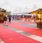 Bardolino, esposizione di auto d'epoca e sportive al mercatino di Natale