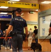 Verona, controllate dalla Polfer 1477 persone la scorsa settimana: 3 arrestati di cui uno per spaccio di droga a S. Bonifacio