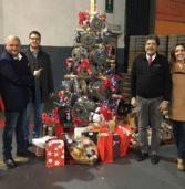 San Bonifacio, alla Coop Fonderia Dante albero di Natale in ghisa e innovativa caldaia