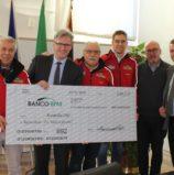 Solidarietà, 3350 euro dal Rally club e dal gruppo Alpini Valpantena per i veneti colpiti dal maltempo