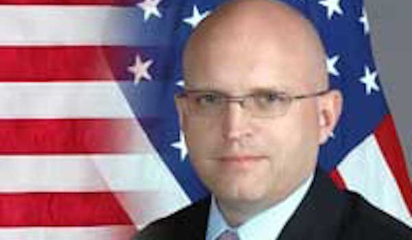 Verona, l'ambasciatore Usa in visita all'ospedale di Borgo Trento