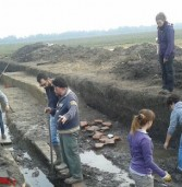 Archeologia, scoperta una strada romana a Gazzo Veronese
