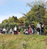 """Val d'Alpone, tanti cittadini, studenti e giovani alla camminata """"Sentieri di Libertà"""" per ricordare i valori della Resistenza"""