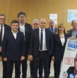 Legnago, il candidato a sindaco Shahine ha aperto la campagna elettorale lanciato da Bendinelli