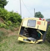 Sona, ecco le foto dell'incidente al pulmino della scuola