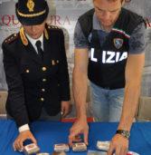 Villafranca, sorpreso dalla Squadra Mobile con mezzo chilo di droga nella pentola da cucina
