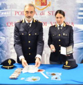 Verona, arrestata dalla Polizia spacciatrice con cinque etti di droga