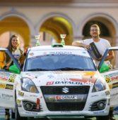 Rally, il legnaghese Strabello quinto al 36° trofeo della Marca
