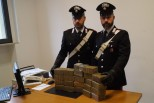Vigasio, sequestrati dai carabinieri di Legnago 23 chilogrammi di hashish