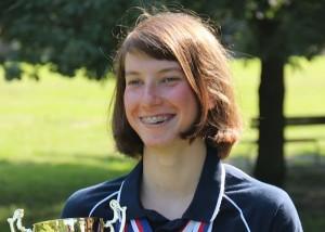 La nuotatrice del Team nuoto Isola Xenia Francesca Palazzo
